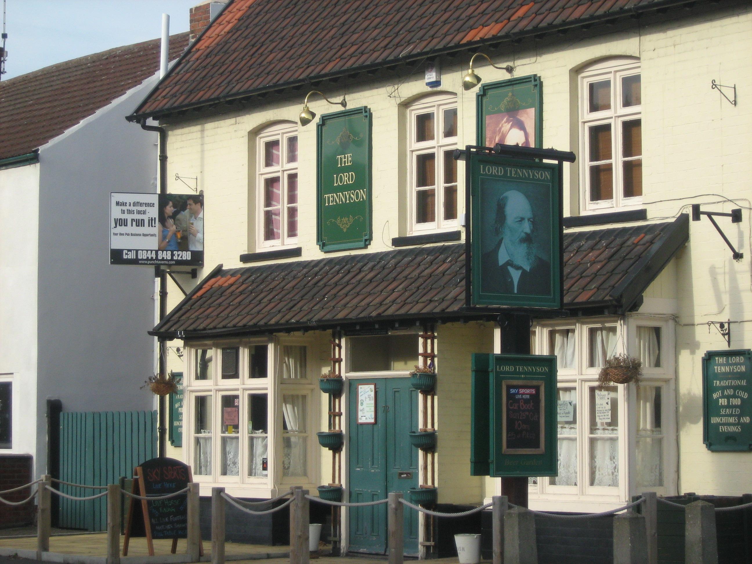 The Lord Tennyson on Rasen Lane