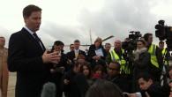 Deputy Prime Minister, Nick Clegg visited RAF Waddington today.