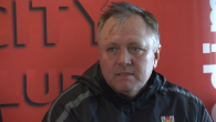 Gary Simpson's first press conference at Sincil Bank since being appointed as Manager.