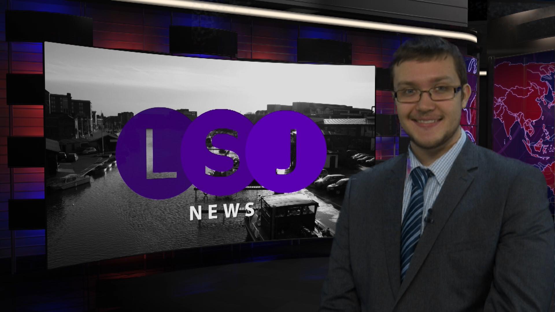 Alex Daniel, presenting 60 Second News