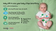 St Johns Ambulance have teamed up with Tesco to launch a life saving CPR baby grow.